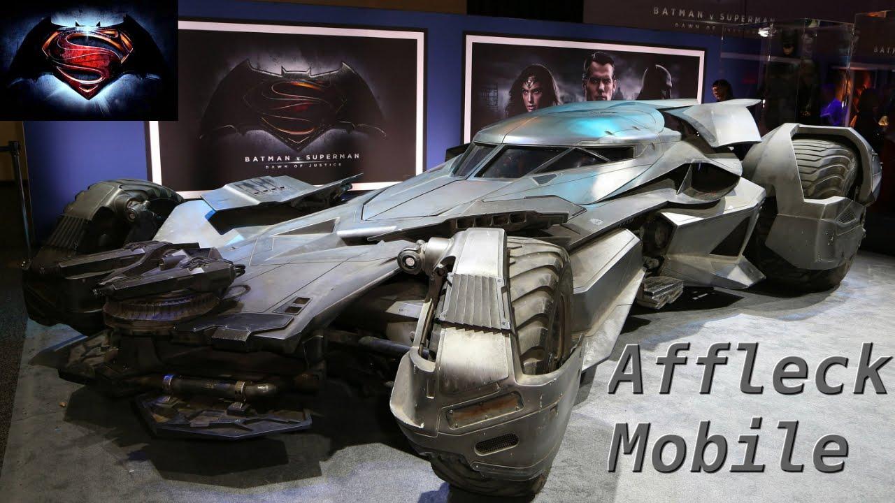 Brand New Batmobile At Clarke Quay Batman V Superman - Brand new batmobile revealed awesome