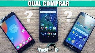 Vibe K6 Plus l Moto G5 Plus l Galaxy J7 Prime. QUAL COMPRAR?