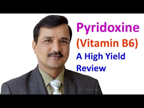 Pyridoxine Vitamin B6 High Yield Review