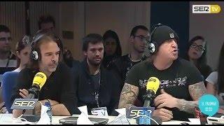 Mägo de Oz - Entrevista a Txus y Moha en Cadena SER (17/12/2015)