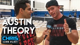Austin Theory: Cena's Instagram post about me, WWE tryout, winning Evolve Championship