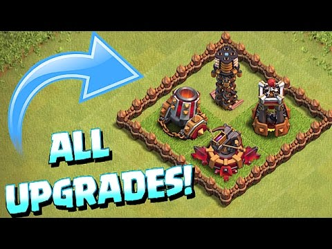ALL UPGRADED TROOPS & WEAPONS!!! (Clash of clans October 2016 Update)