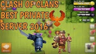 How to get on a modded clash of clans sever!!!