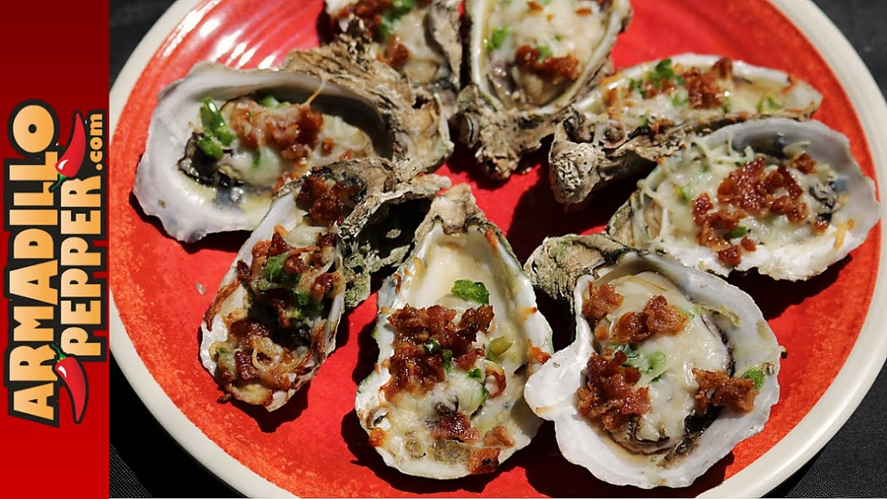 How to Grill Bacon-Jalapeno Oysters on the Half Shell