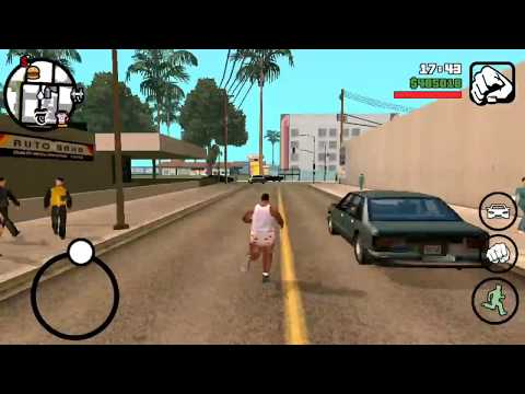 From 100% fat to 0%, Carl gets fit - GTA San Andreas