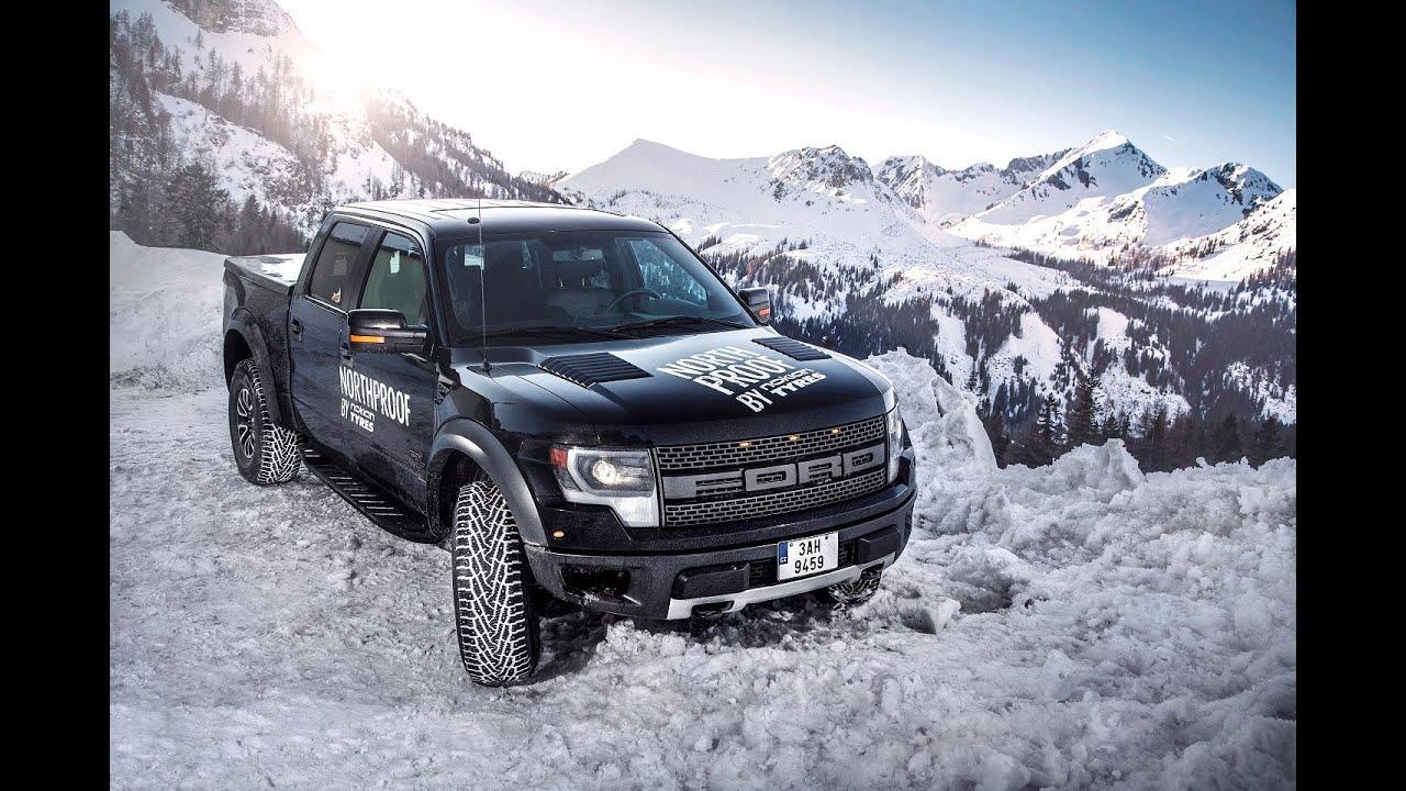 Ford Raptor 6 2l On Nokian Hakkapeliitta Lt2 Snow Fun
