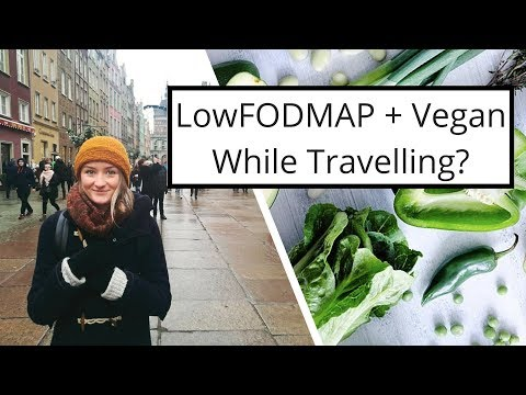 My First Semi-Successful lowFODMAP + Vegan Trip! Gdansk, Poland
