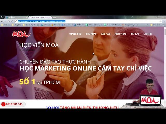 [HỌC VIỆN MOA] [Google AdWords] Mạng Tìm Kiếm – Search Network