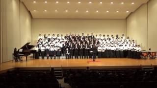 みんなで歌おう「第九コンサート2017」第1部混声四部合唱 「時代」中島...