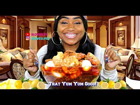 Shrimp and Potato Boil