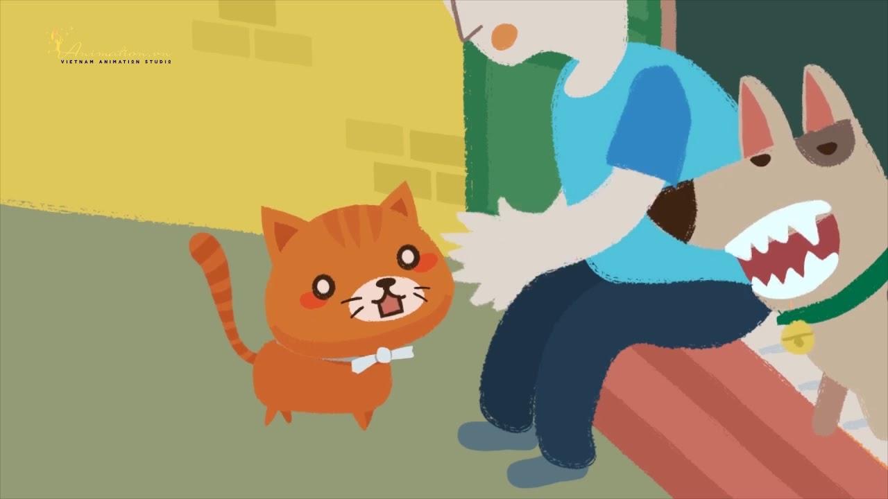 Làm phim Hoạt hình chú mèo đưa Thư [ANIMATION.VN]