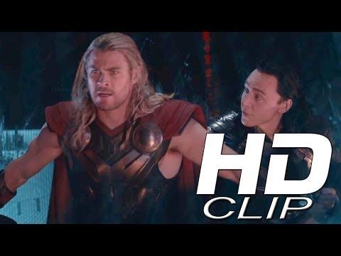 "THOR: THE DARK WORLD ""Escape From Asgard"" Official Clip"