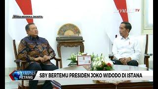SBY Bertemu Presiden Joko Widodo di Istana, Koalisi?