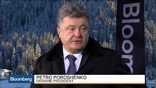Ukrainian President: Our Security Affects All of Europe