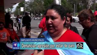 Denuncia de Empleados Municipales por agresión