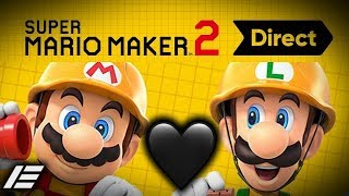 Etika Reacts to the Super Mario Maker 2 Nintendo Direct 5.15.19 (Full Stream)