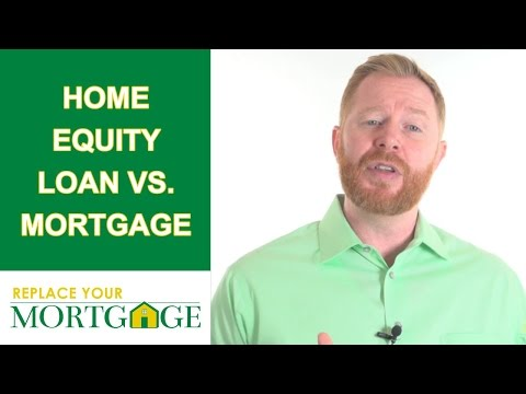 Home Equity Loan VS Mortgage - What You Should Know