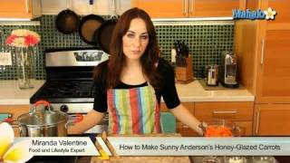 How To Make Sunny Anderson's Honey-glazed Carrots
