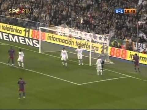 Liga Real Madrid vs Barcelona 0:3 19 11 2005  Classico de Ronaldinho