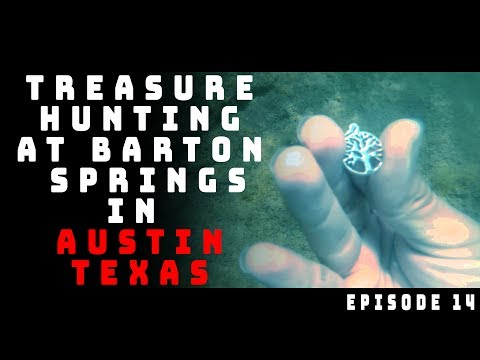 Treasure Hunting In Barton Springs Creek In Austin Texas #2