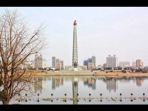 North Korea tour: Juche Tower, Pyongyang