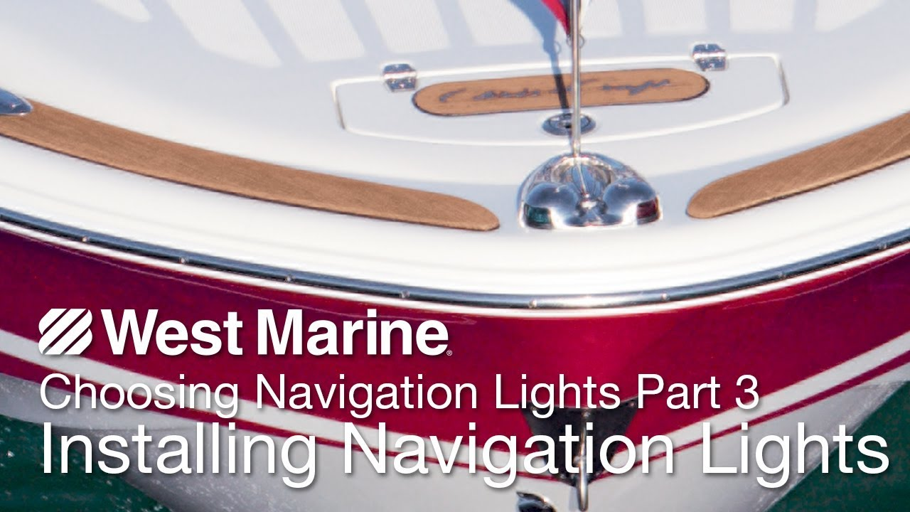 hight resolution of boat running light color