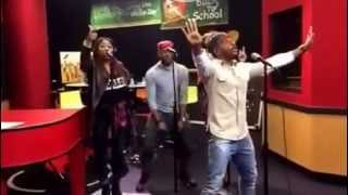 Kirk Franklin (@KirkFranklin) performs Wanna Be Happy & I Smile on the Tom Joyner Morning Show