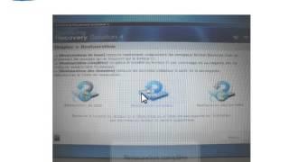 Comment restaurer mon ordinateur a son etat initial 1er achat SAMSUNG
