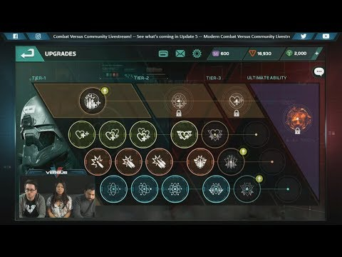 Modern Combat Versus: What's in Update 5? Dev Livestream