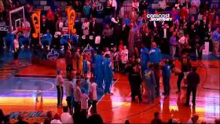 Will Ferrell Chicago Bulls New Orleans Hornets Line Up Introductions 80