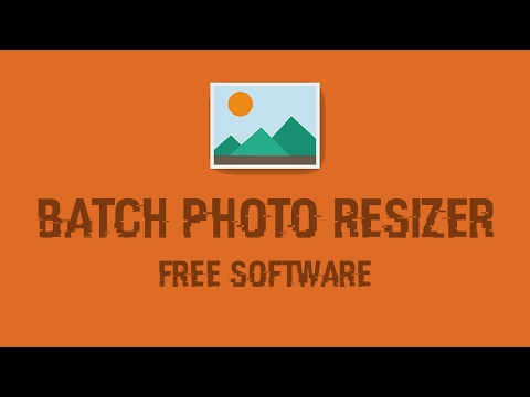 How To Resize Multiple Image In Bulk - Batch PhotoResizer Free Software