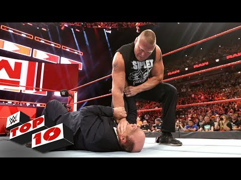 Top 10 Raw moments: WWE Top 10, July 30,...