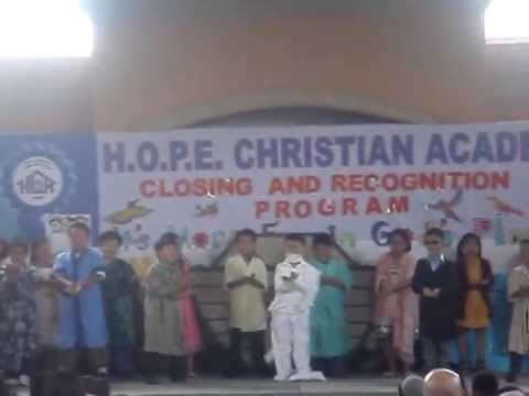 Miracles of Jesus (Hope Christian Academy Grade 1)