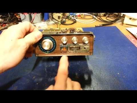 Old Lafayette CB radios with no receive audio. There may be nothing wrong with your radio.