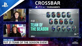 FIFA 21 Crossbar - Global Victories on the Road to the FIFA eWorld Cup | PS CC