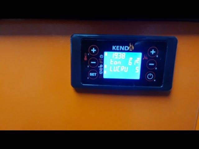 Centrala pe peleti Kenda 50 kw+ Puffer 300L+ Boiler 300L AE+ Panou solar+ Distribuitor 4 circuite