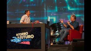 Leopolda 9 - Matteo Renzi con Paolo Bonolis