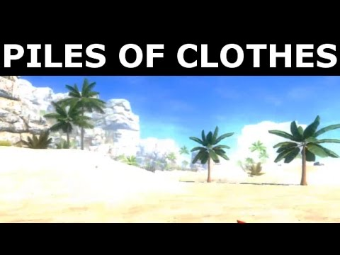 Bear Simulator - Find All Piles Of Clothes (Location)