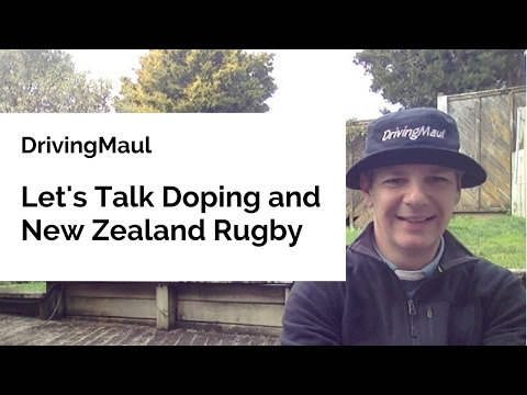 Let's Talk Doping And New Zealand Rugby