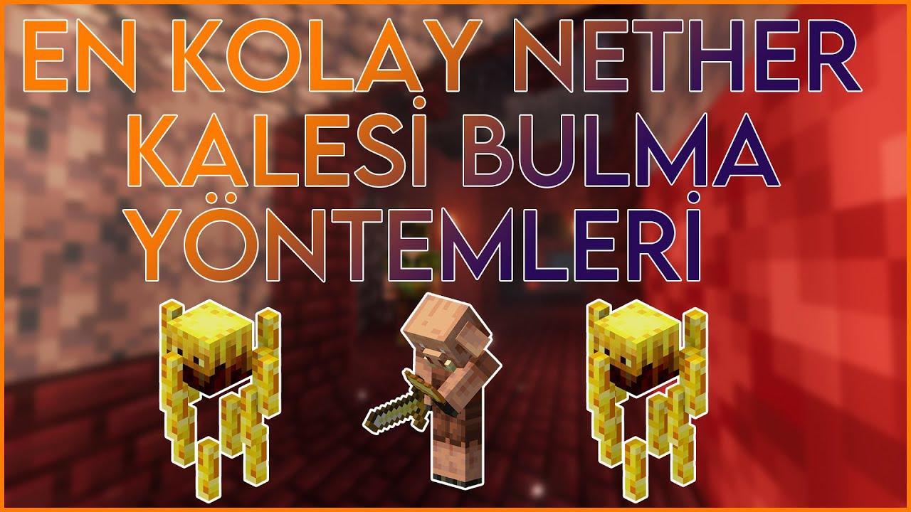 En Kolay Kale Bulma Yöntemi! - Minecraft 1.16 Kale Nasıl Bulunur |Minecraft 1.16 Surival #18