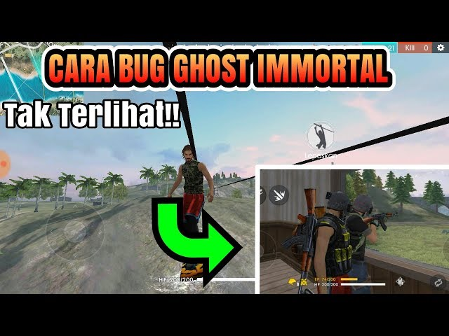 Cara Bug Ghost Immortal -Garena Free Fire