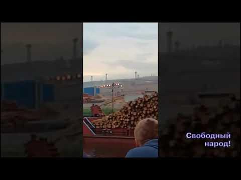 Лес из Иркутской области тащат по реке в Китай!
