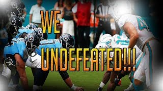1-0! MIAMI DOLPHINS FAN REACTS TO WIN OVER TENNESSEE TITANS!!