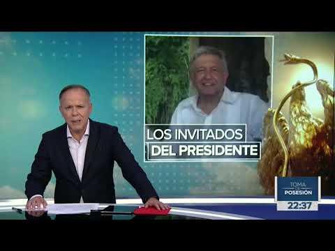Ya está la lista de invitados a la Toma de posesión de López Obrador   Noticias con Ciro