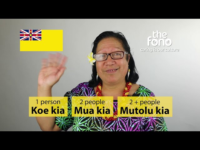 The Fono | Faahi Tapu he Vagahau Niue | Niue  Language Week 2020 | Last Day | How to say goodbye