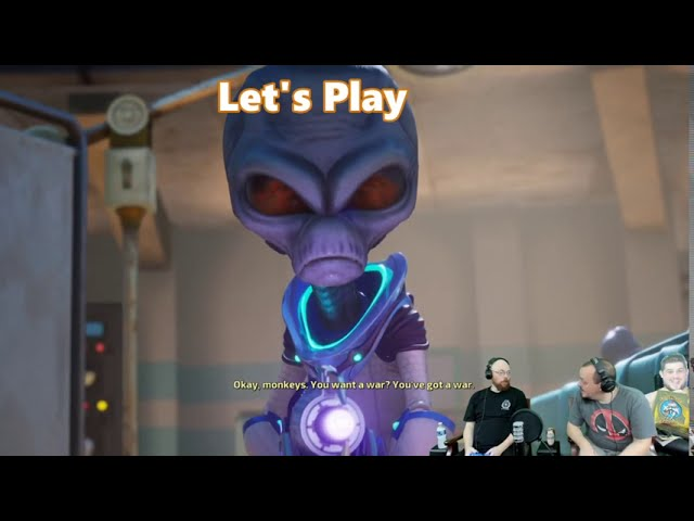 Let's Play With Your Perjangers: Destroy All Humans! Part 4