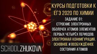 ЕГЭ 2019 Химия. Задание 1: электронная конфигурация. Химия для гуманитариев