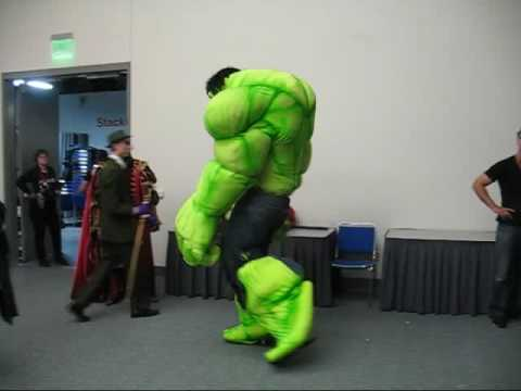 & MikesCostumes.com - Showing off the Hulk Costume - YouTube