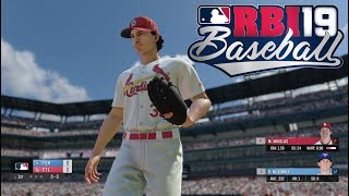 RBI Baseball 19 Gameplay  St. Louis Cardinals vs Toronto Blue Jays World Series Game 7 Full Game PS4