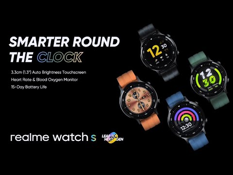 Realme Watch S Introduction Video